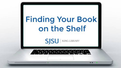Finding your book on the shelf