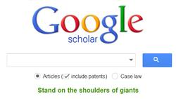 Using Google Scholar to Find Citations