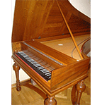 Photo of a fortepiano
