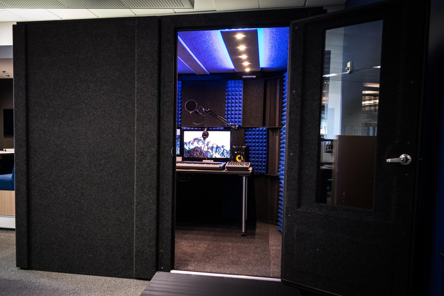 Sound Studio | Dr. Martin Luther King Jr. Library