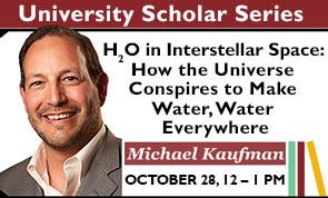 Michael Kaufman, University Scholar Series (King Library)
