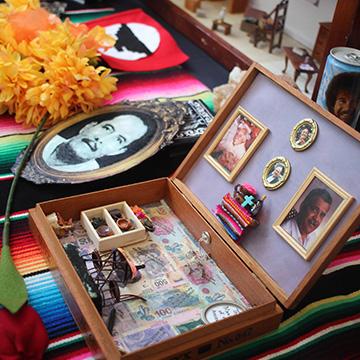 Carlos Rodriguez altar