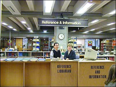 Reference Desk Dr Martin Luther King Jr Library