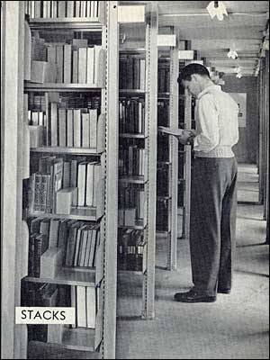 Library Stacks - 1942