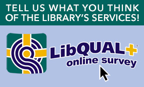 Tell us what you think of the library's services