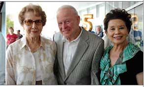 Photo of Bobbe George, Lee Brandenburg, and Lillian Gong-­Guy.
