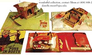 Image of a pop up books.