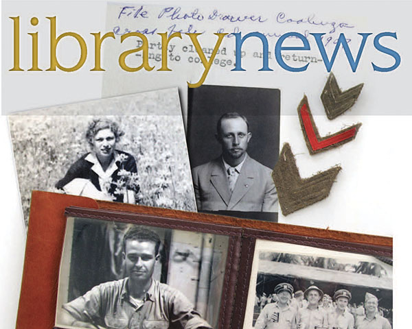 Library News Spring 2016