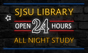 24-hour open sign for all-night study