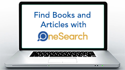 Find Books and Articles with OneSearch