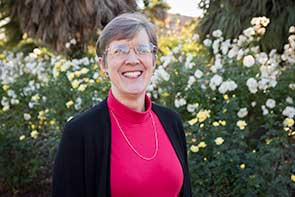 Photo of librarian Ann Agee