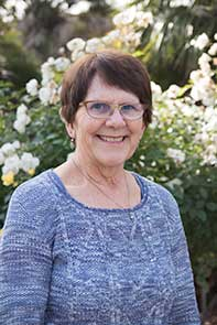 Photo of librarian Linda Crotty