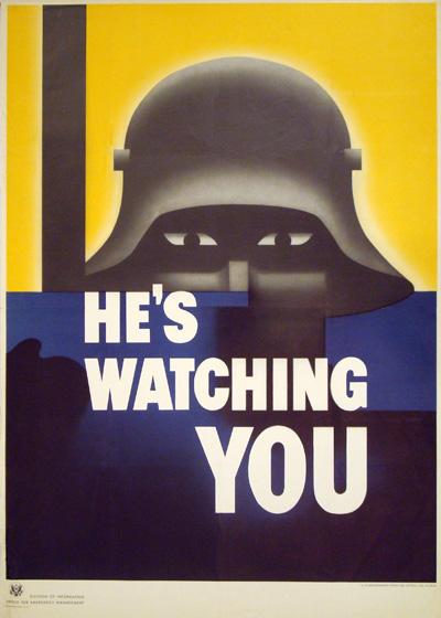 he u0026 39 s watching you