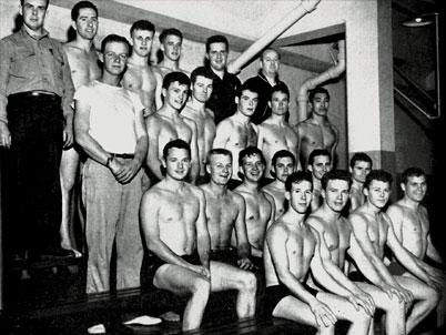 San Jose State Men 39 S 1950 Swim Team Dr Martin Luther King Jr Library