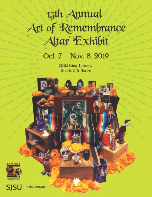 13th Annual Art of Remembrance Altar Exhibit
