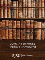 Birkholz, Dorothy Library Endowment