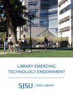 Library Emerging Technology Endowment