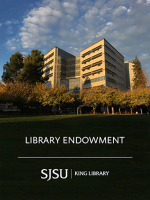 SJSU Library Endowment