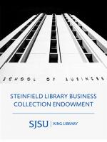 Steinfield Library Business Collection Endowment