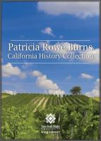 Burns, Patricia Rowe California History Collection Endowment